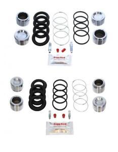for PORSCHE 911 FRONT & REAR Brake Caliper Seal Repair Kit +Pistons (*FK29)