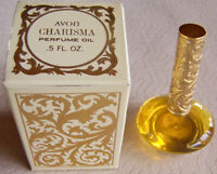 "Vintage 1970s Avon ""CHARISMA"" Perfume Oil FULL .5 fl. oz. - NEW!"