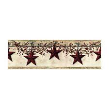 COUNTRY STARS  Wallpaper Border BY YORK