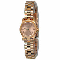 Marc Jacobs Women's MBM3200 'Henry Dinky' Rose-Tone Stainless Steel Watch