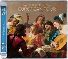 NORDIC BRASS ENSEMBLE-EUROPIAN TOUR-IMPORT SACD HYBRID+BLU-RAY AUDIO K25