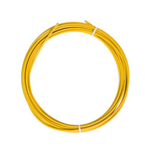 YELLOW SIS BICYCLE BIKE SHIFT SHIFTER GEAR CABLE HOUSING 12 FOOT ROLL 4mm