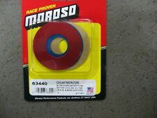 MOROSO 63440 WATER OUTLET COOLANT RESTRICTOR KIT CHEVY & FORD WINDSOR
