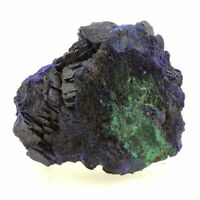 Chessylite ( Azurite ). 60.0 ct. Chessy-les-Mines, France
