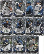 NEW YORK YANKEES (11) CARD BOWMAN DRAFT SILVER ICE ROOKIE LOT SEE LIST & SCANS