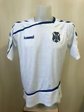 FC Tenerife 2014 Home Sz M Hummel shirt maillot jersey soccer football maglia