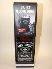 JACK DANIELS Daniel´s Old No.7 Whiskey 40 % vol. 0,7 l + Edelstahlbeche