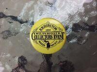 Vtg Superfest Collectors Event Button Pin Pinback Exhibitor Mason Michigan 1995
