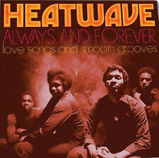 Heatwave : Always and Forever: Love Songs and Smooth Grooves CD (2016)