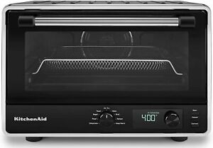 * KitchenAid Digital Countertop Toaster Oven with Air Fry in Black (NEW) *