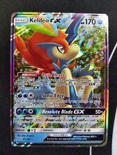 Keldeo GX 47/236 Unified Minds Pokemon Card Ultra Rare NM