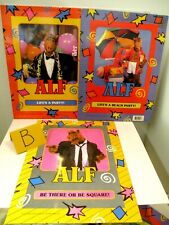 LOT OF (3) ALF SCHOOL PORTFOLIOS 1987 ALIEN PRODUCTIONS New & Unused GROUP B
