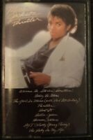 Michael Jackson Thriller Cassette Tape. Tape does not work properly see pictures
