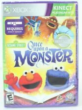 Sesame Street Once Upon A Monster (Xbox 360 Kinect) NEW