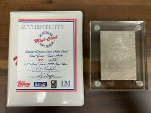 Highland Mint Topps 1986 Steve Young #374 Limited Edition of 500 SILVER RC Card