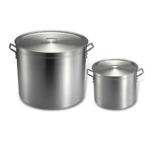 PineHouse 160QT Stock Pot with Lid