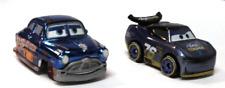 DISNEY PIXAR CARS DIE CAST MINI RACERS WILL RUSCH  METALLIC FAB HUDSON HORNET