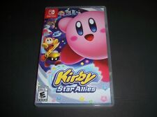 Replacement Case (NO GAME) Kirby Star Allies Nintendo Switch Box Original