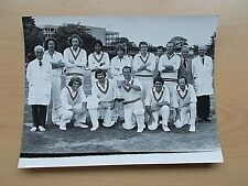 A Real Photo Of The HASTINGS Cricket Club Team With The Kemp Cup