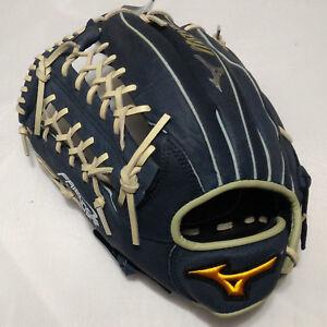 """MIZUNO Friendship DarkBlue 13"""" T-Web Left Handed Thrower Outfield Softball Glove"""