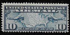 US Scott #C7, Single 1926 Air Mail 10c FVF MH