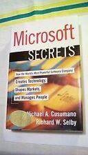MICROSOFT SECRETS Michael A. Cusumano Richard W. Selby Free Press 1995 autograph