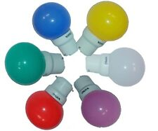 Pack Of Seven Wipro LED Bulb 0.5W With 7 Different Colour Bulb And Free Shipping