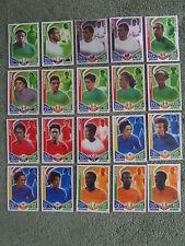 20 Match Attax - International Players - All Different - Ex. Condition - Lot 6
