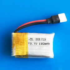 3.7V 20C 180mAh Li po battery For X5 Quadcopter Helicopters RC Drone 801723