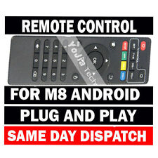 Genuine M8  M8N Android TV box Remote Control  (New Style) M8TV MXQ M8N M8c M8S