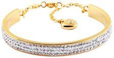 Modeschmuck-Bettelarmbänder & -Anhänger aus Edelstahl mit Strass-Perlen