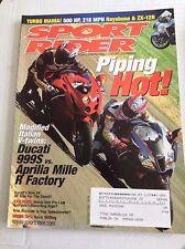 Sport Rider Magazine Ducati 999S Aprilia Mille September 2004 032317NONRH