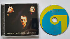 ⭐⭐G-Punkt ⭐ DARK VOICES ⭐ 11 Track CD 1998 ⭐  VERY GOOD ⭐ Gio van Oli And One ⭐⭐