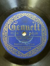 Gennett 78 RPM 9039 Radermans Novelty Orchestra & Saxi Holtsworth Harmony Hounds