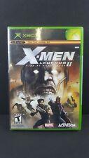X-Men Legends II: Rise of Apocalypse (Microsoft Xbox, 2005) BRAND NEW SEALED