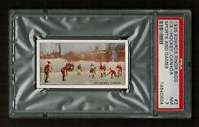 PSA 7 1935 HOCKEY CARD Edwards, Ringer & Bigg Sports and Games #3