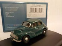 Morris Minor, Green, Model Cars, Oxford Diecast 1/76