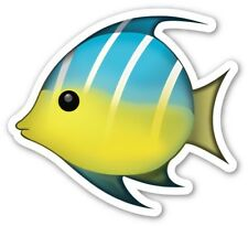 Vinyl Sticker 15cm tropical fish nature animal laptop sea life aquarium emoji