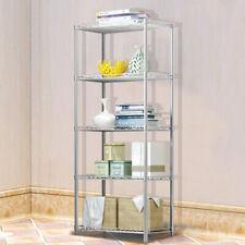 5 Tier Metal Kitchen Shelving Storage Unit Rack Home Garage Shelf Shelves Office