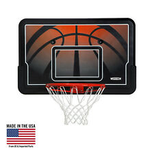 "44"" Basketball Backboard and Rim Combo Wall Roof Mount Outdoor Ball Sports Goal"