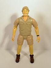 "RARE 2006 Talking Crocodile Hunter Steve Irwin 9"" K & M Action Figure"