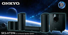 NIB Onkyo SKS-HT594 5.1.2-Channel Dolby Atmos Home Theater Speaker System 120W