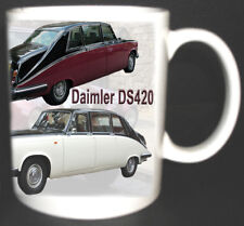 DAIMLER DS420 LIMOUSINE CLASSIC CAR MUG. 1968-1992. LIMITED EDITION DESIGN.