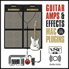 Electric Guitar Amps & Effects Software / VST & AU Plugins / for Mac macOS OSX