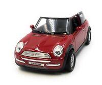 Maquette de Voiture Mini Cooper Rouge Auto 1:3 4-39 (Licencé)
