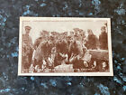 WW1 Scottish Soldiers Clean Up After Spell In Trenches YMCA Hut Fund Postcard
