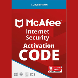 McAfee Internet Security 2021 Premium Subscription Key Unlimited Device 3 Year
