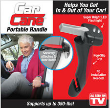 New Car Cane Mobility Aid Standing Support Portable Grab Bar with Flash Light