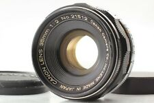 [EXC+5] CANON 35mm F/2 Wide Angle MF Lens L39 LTM Leica Screw From JAPAN