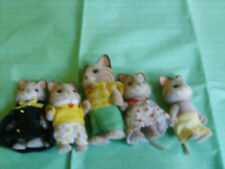 Calico Critters 5 Cats